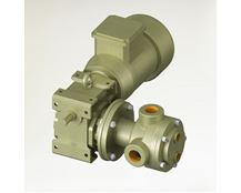 North Ridge TIG90CH Close Coupled Internal Gear High Viscosity Food Pump with 90° Threaded Connections