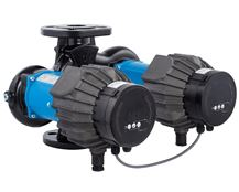 North Ridge NMTD MAX Series Energy Saving Inline Twin Circulating Pumps