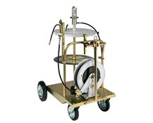 RAASM 180 - 220 kg Trolley Mounted Grease Dispensing Kits with Hose Reel