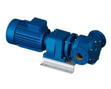 North Ridge FIG180C Close Coupled Internal Gear Pump with In-Line Flange Connections