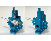 North Ridge MGLPR Low Pressure Modular Gear Pump with Pressure Relief Valve