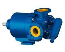 North Ridge MFIG90L Magnetically Coupled Internal Gear Pump with Extended Gear Length and 90° Flange Connections