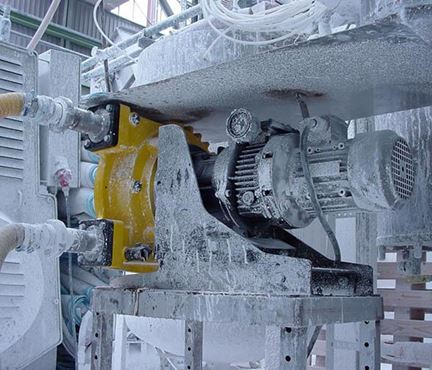 Peristaltic pump operating in an environment at -20°C from North Ridge Pumps